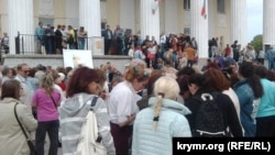 Протест против генплана в Севастополе, 12 мая 2017 года