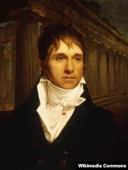 Несостоявшийся посол США в России Уильям Шорт. Портрет работы Рембрандта Пила. 1806