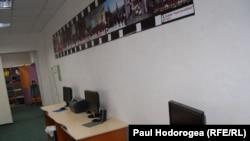 Sala de computere a Atelierului de terapie