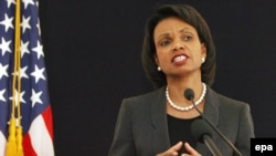 "U.S. Secretary of State Condoleeza Rice says ""there's no doubt that Pakistani territory was used, by probably nonstate actors."""