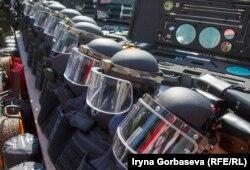 Echipament oferit de NATO pentru forțele Kievului din regiunea Donețk.