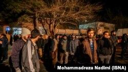 В Тегеране протестующие собрались 2 января у посольства Саудовской Аравии, через несколько часов начался погром