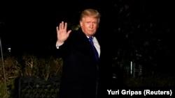 Трамп Давоско жөнөгөн учур. Вашингтон, 24-январь, 2018-жыл.
