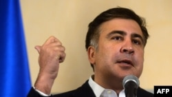 Former President Mikheil Saakashvili left Georgia late last year after his second presidential term expired.