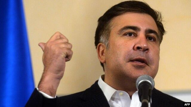 Former Georgian President Mikheil Saakashvili