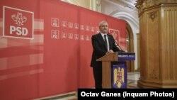 Liviu Dragnea, liderul PSD şi preşedintele Camerei Deputaţilor