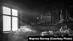 Последний жилой дом в поселке Бык на Ангаре