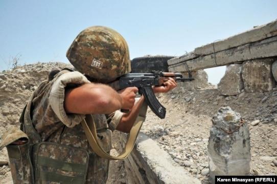 Այս գիշեր Ադրբեջանի զինուժը կիրառել է հակատանկային եւ հաստոցավոր ավտոմատ նռնականետեր. ԼՂՀ ՊԲ