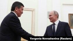 Сооронбай Жээнбеков менен Орусиянын президенти Владимир Путиндин февраль айындагы жолугушуусу. 27-февраль, 2020-жыл.