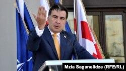 Грузия президенті Мизаил Саакашвили.