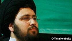 Ali Khomeini, an Iranian cleric who is the grandson of the late Ayatollah Ruhollah Khomeini.