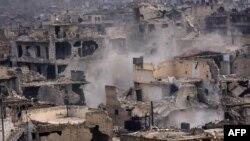Зруйновані обстрілами райони Алеппо, Сирія, 5 грудня 2016 року