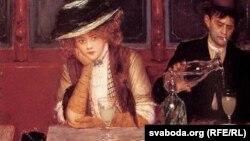 Жан Бэро, «У кавярні» (1908)