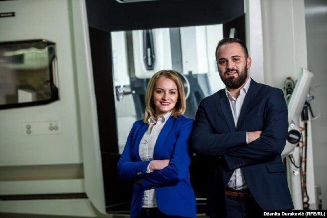 Porodica Bajrić prije nekoliko godina se vratila iz Njemačke u rodni Bihać i otvorila firmu koja se bavi obradom metala