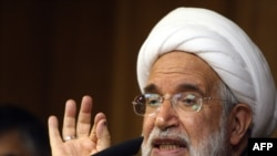Mehdi Karrubi -- bringing good news?