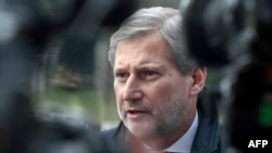 EU Enlargement Commissioner Johannes Hahn