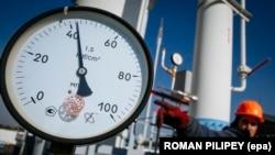 Украинадагы газ компрессор. 15-октябрь, 2015-жыл.