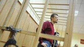 Ярослав Белоусов на одном из судебных заседаний