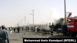 Taliban spokesman Qari Yousuf Ahmadi said the Taliban was responsible for the attack.
