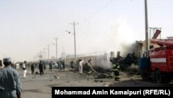 Taliban spokesman Qari Yousuf Ahmadi said the Taliban was responsible for the attack.