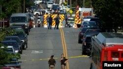 Pamje nga Virgjia, afër vendit ku ka ndodhur sulmi