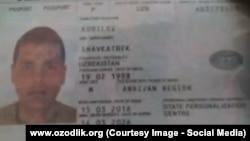 Moskvada yo'qolgan bu pasport Ozodlikda e'lon chiqqan kunning ertasiga egasining akasiga topshirildi.