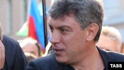 Убитый российский оппозиционный политик Борис Немцов.