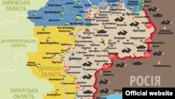 Сытуацыя ў зоне баявых дзеяньняў на Данбасе на 28 траўня