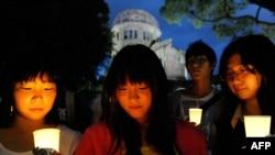 Һирошимада матәм чарасы