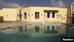 Будівля консульства США в Бенгазі, яка була атакована 11 вересня 2012 року