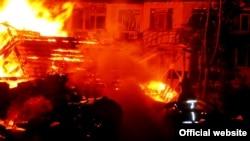 Пожежа в дитячому таборі «Вікторія» в Одесі, фото ДСНС
