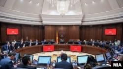 Архивска фотографија- Седница на Владата на Република Северна Македонија