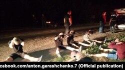 Поліція оприлюнила фото затриманих після нападу на автобус із прихильниками руху Іллі Киви, 27 серпня 2020 року