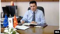 Потпретседателот на СДСМ и градоначалник на Струмица Зоран Заев.