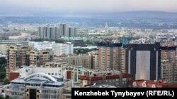 Панорама Алматы. Иллюстративное фото.