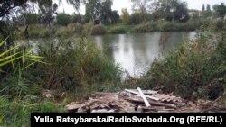 Озеро Куряче у Дніпропетровську