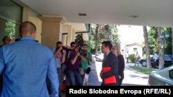Zoran Zaev pre početka sastanka lidera u Skoplju