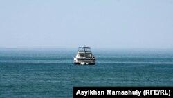 Каспийское море у берегов Актау. Иллюстративное фото.