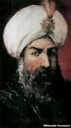 Şirvanşah I İbrahimin rəssam Nəcəfqulu İsmayılov tərəfindən çəkilmiş portreti