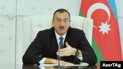 Azerbaijan -- President Ilham Aliyev chairs a cabinet meeting in Baku, - 09Jan2014
