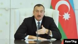 Azerbaijani President Ilham Aliyev (file photo)