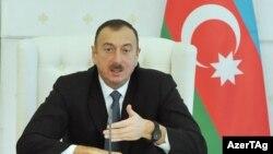 Президент Азербайджана Ильхам Алиев, 2014