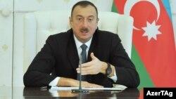 Azerbaijan -- President Ilham Aliyev. January, 2014.