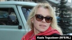 Олеся Халабузарь, руководитель «Общества молодых профессионалов». Алматы, 7 марта 2017 года.