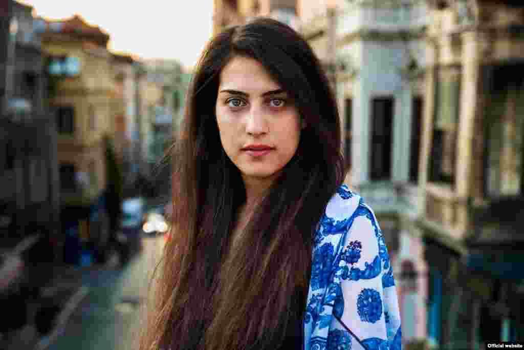 "Сирийская женщина в Стамбуле, Турция, фотопроект ""Атлас красоты"" (Atlas of Beauty) Микаэлы Норок."