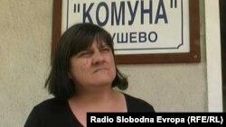 Даница Кондоска, раководител на градска мрежа од Ј.П. Комуна од Крушево.
