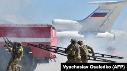Кыргызско-российские военные антитеррористические учения. 25 сентября 2018 года.