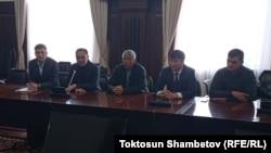 Представители Народного координационного совета. 7 октября 2020 года.
