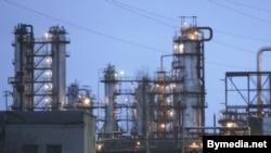 Нафтаперапрацоўчы завод у Наваполацку.