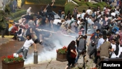 Истанбул шаҳрининг Тақсим майдони, 2013 йил 31 май.